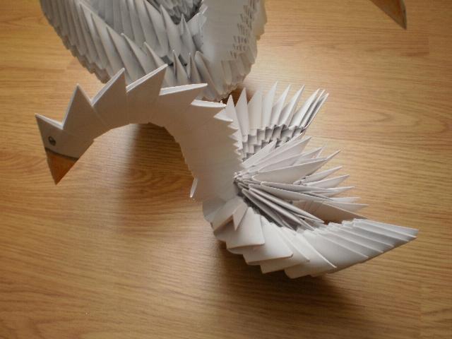 лебедь - схема сборки